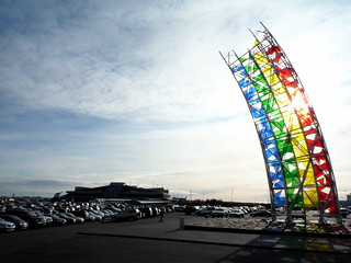 rainbow at Keflavík Airport