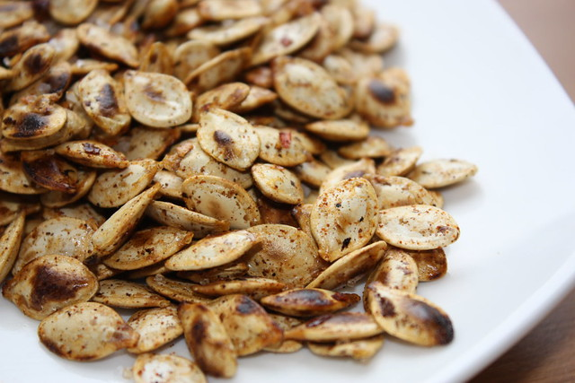 Spicy Toasted Pumpkin Seeds | Flickr - Photo Sharing!