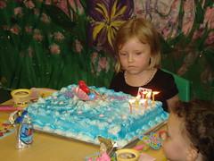 Annabeth & her cake