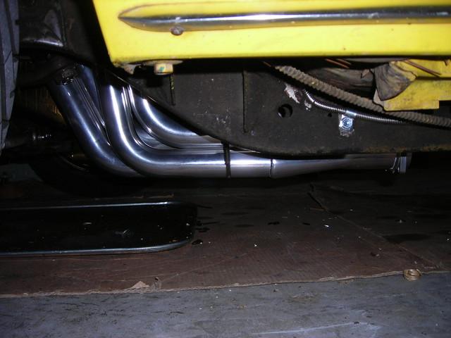Low Headers Wrong Motor Mounts Team Camaro Tech