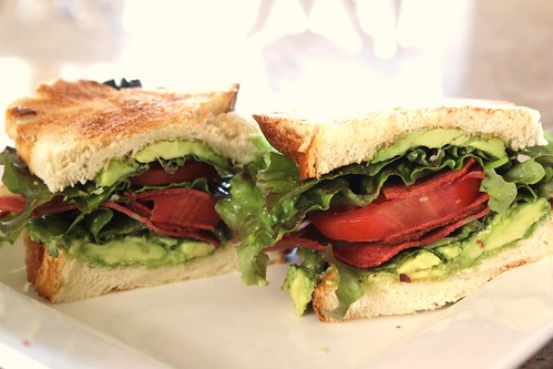 Vegan BLT with Avocado