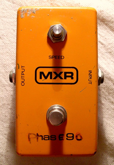 Photo:MXR Block Logo Phase 90 By Roadside Guitars