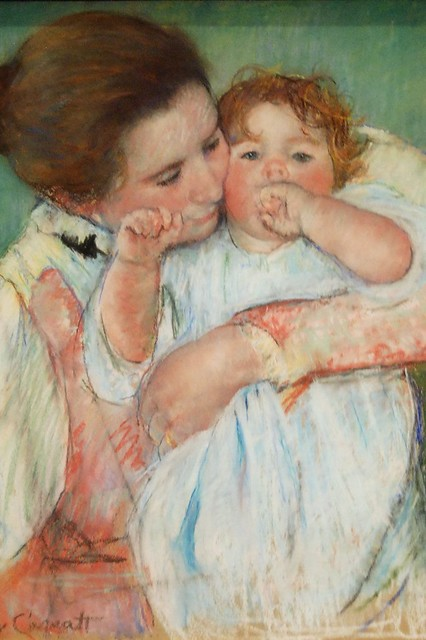 Musee d'Orsay - Mother and Child - Mary Cassatt - a photo ...