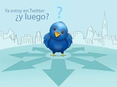 Ya estoy en Twitter