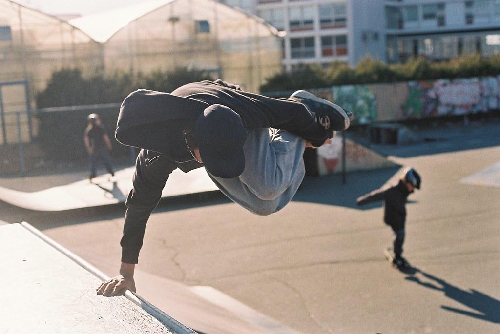 Skatepark extérieur au Pavillon Jean-Béliveau de Victoriaville