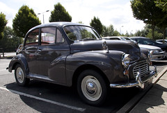 austin fx4(0.0), mid-size car(0.0), dkw 3=6(0.0), compact car(0.0), automobile(1.0), vehicle(1.0), morris minor(1.0), antique car(1.0), sedan(1.0), classic car(1.0), vintage car(1.0), land vehicle(1.0),