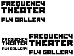 Frequency Theater   Logo development