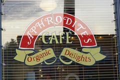 Vancouver, August 2009:  Scenes from Aphrodite's Cafe