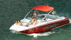 vehicle, skiff, boating, motorboat, watercraft, boat,