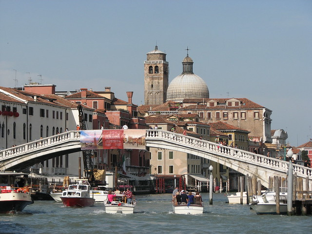 Scalzi bridge over Grand Canal