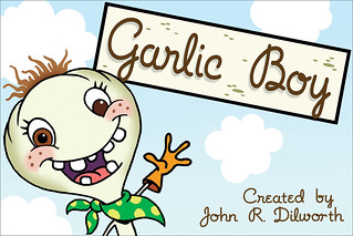 Fredertor Postcards Series 7.24: Garlic Boy