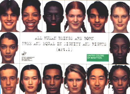 Awesome and controversial ads from benetton for Benetton we are colors