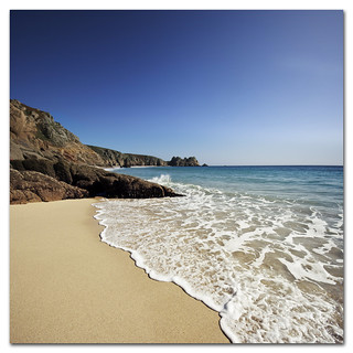 Beach, Cornwall, England. Dip your toes in and wash away those Monday blues...