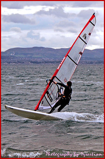 Pettycur Bay Windsurfer