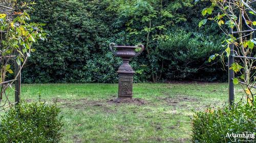 Carnfield Hall Garden Urn - HDR