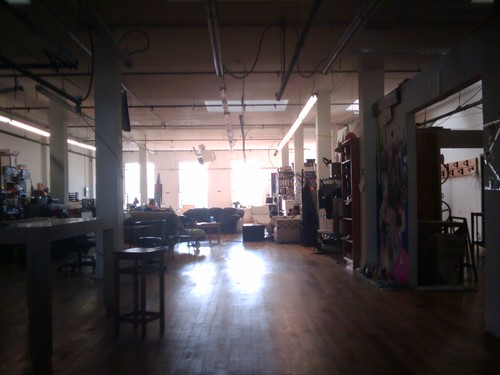 Noisebridge - looking west