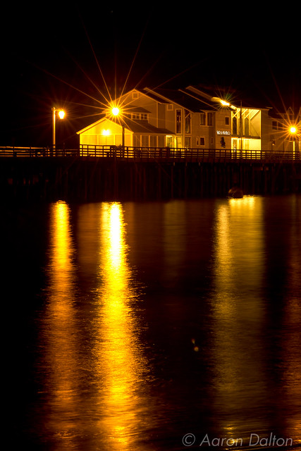 Stern's Wharf at Night