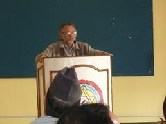 Prof. Subas KC of Kathmandu University inaugurating Mgmt. Workshop