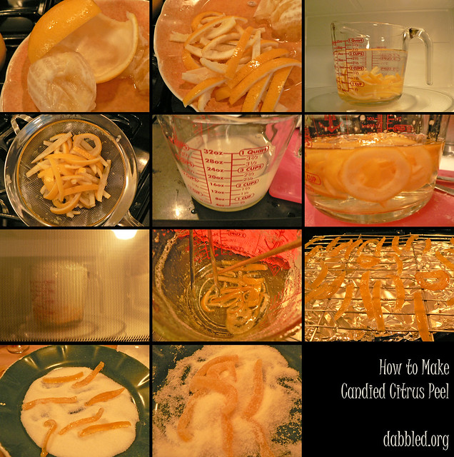 How to Make Candied Citrus Peel (Lemon) | Flickr - Photo Sharing!