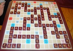 New Game :) What does a Scrabble game you played in tell about yourself?
