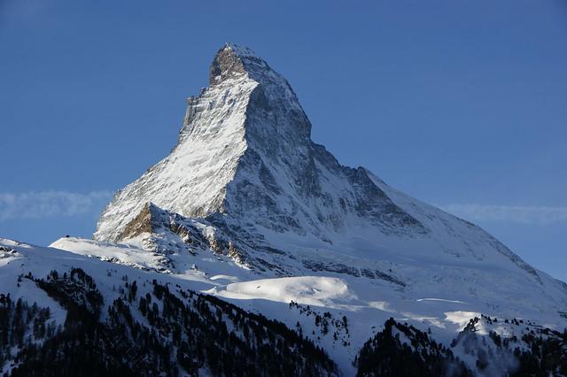 Matterhorn in Switzerland by Flickr user twicepix