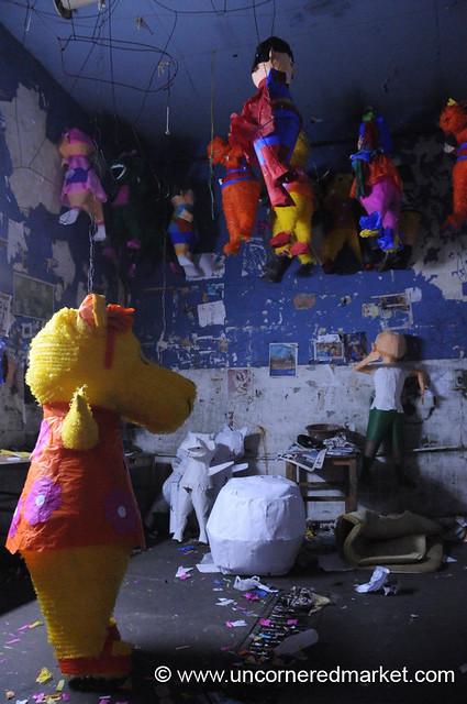 Pinata Factory - Guatemala City, Guatemala