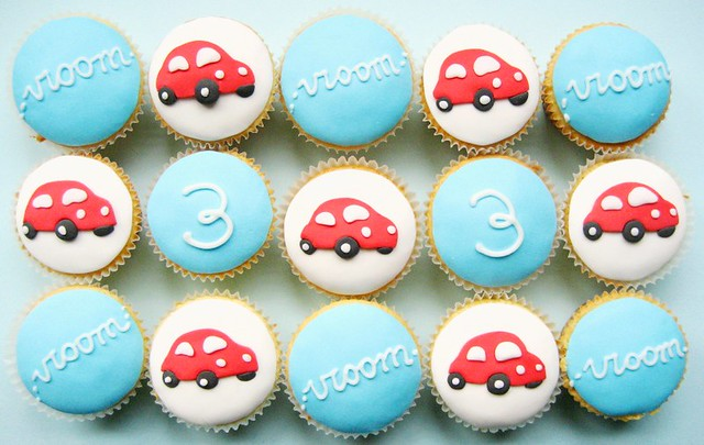 vroom cupcakes