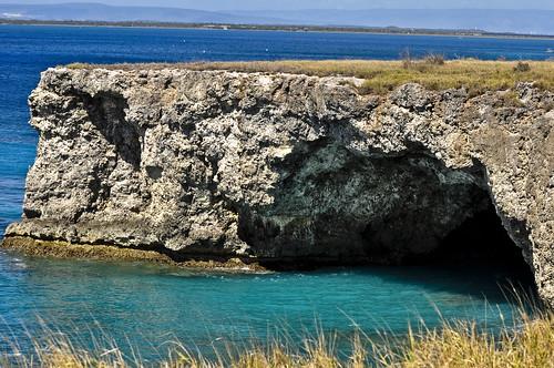 ocean landscape bay nikon cuba cliffs shore cave guantanamo d90 gtmo chazjaz