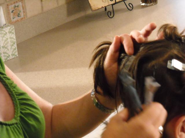 Continue using head lice comb