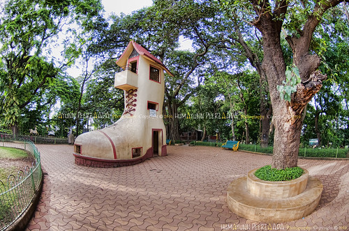 The Boot House, Hanging Gardens, Malabar Hill, Mumbai, Maharashtra - India.