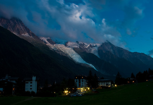 228- Chamonix at Night