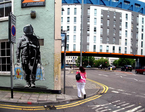 UK street art - day 2 - Bristol - SPQR