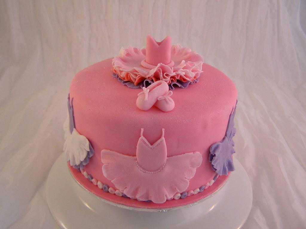 Brilliant Ballet Dance Birthday Cake Cake Designer 57 Moselle Fra Flickr Personalised Birthday Cards Cominlily Jamesorg