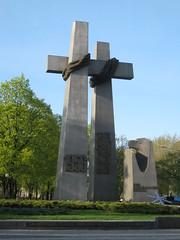 Monument in Poznan