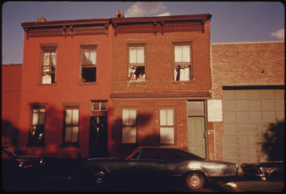 Row Houses on Bond Street in Brooklyn, New York ... 07/1974