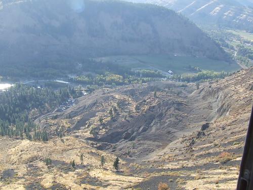 county river landslide geology mass yakima wasting dnr naches geologydnr
