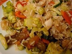 meal, salad, thai fried rice, rice, nasi goreng, food, pilaf, dish, fried rice, cuisine, asian food,