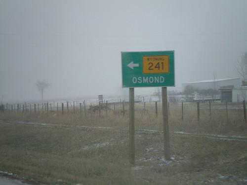 US-89 North at WY-241 North