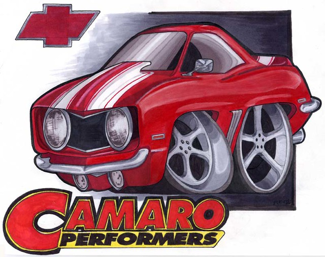 Camaro Cartoon | Check out our site for more drawings. www ...
