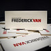 Frederick Van Letterpress Business Cards by dolcepress