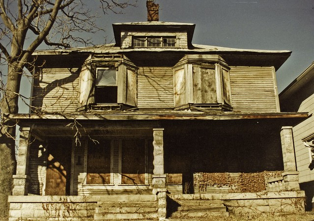 Abandoned Northside Duplex Indianapolis Flickr Photo