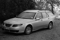 automobile, automotive exterior, wheel, vehicle, full-size car, mid-size car, saab automobile, bumper, saab 9-5, land vehicle,