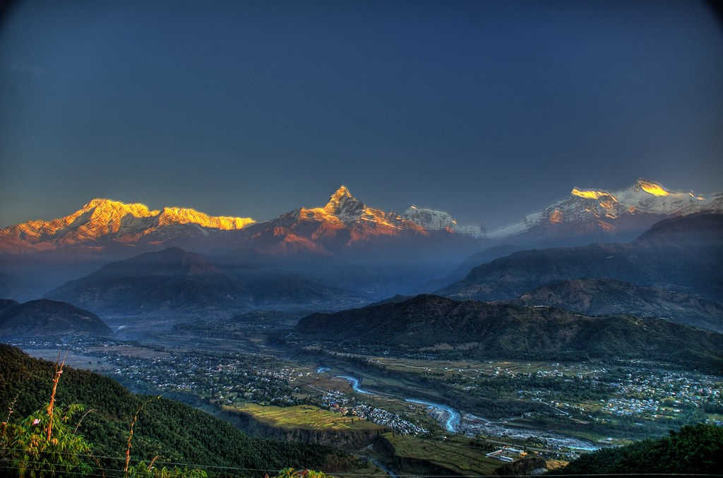 The Fishtail and Pokhara, Nepal