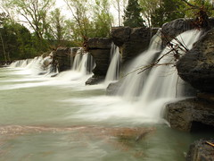 the natural dam