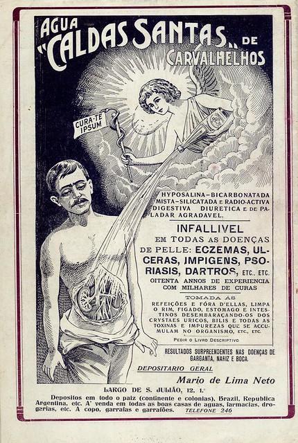 Ilustração Portugueza, No. 543, July 17 1916 - back cover