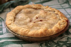 Plum Pie with Foolproof Sour Cream Crust