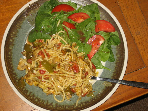 Baked Spaghetti Dinner