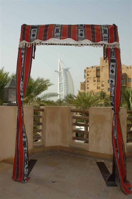 Burj Al Arab desde Madinat Jumeirah