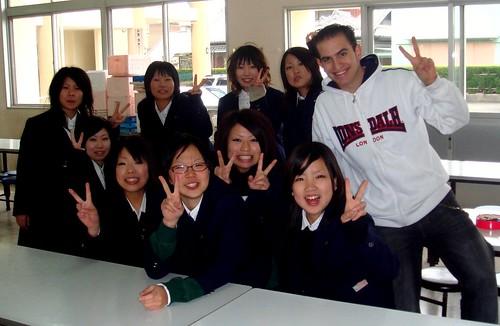 Colegialas ninja japonesas