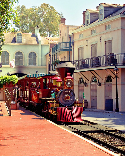 Disneyland New Orleans Cafe Shrimp And Grits